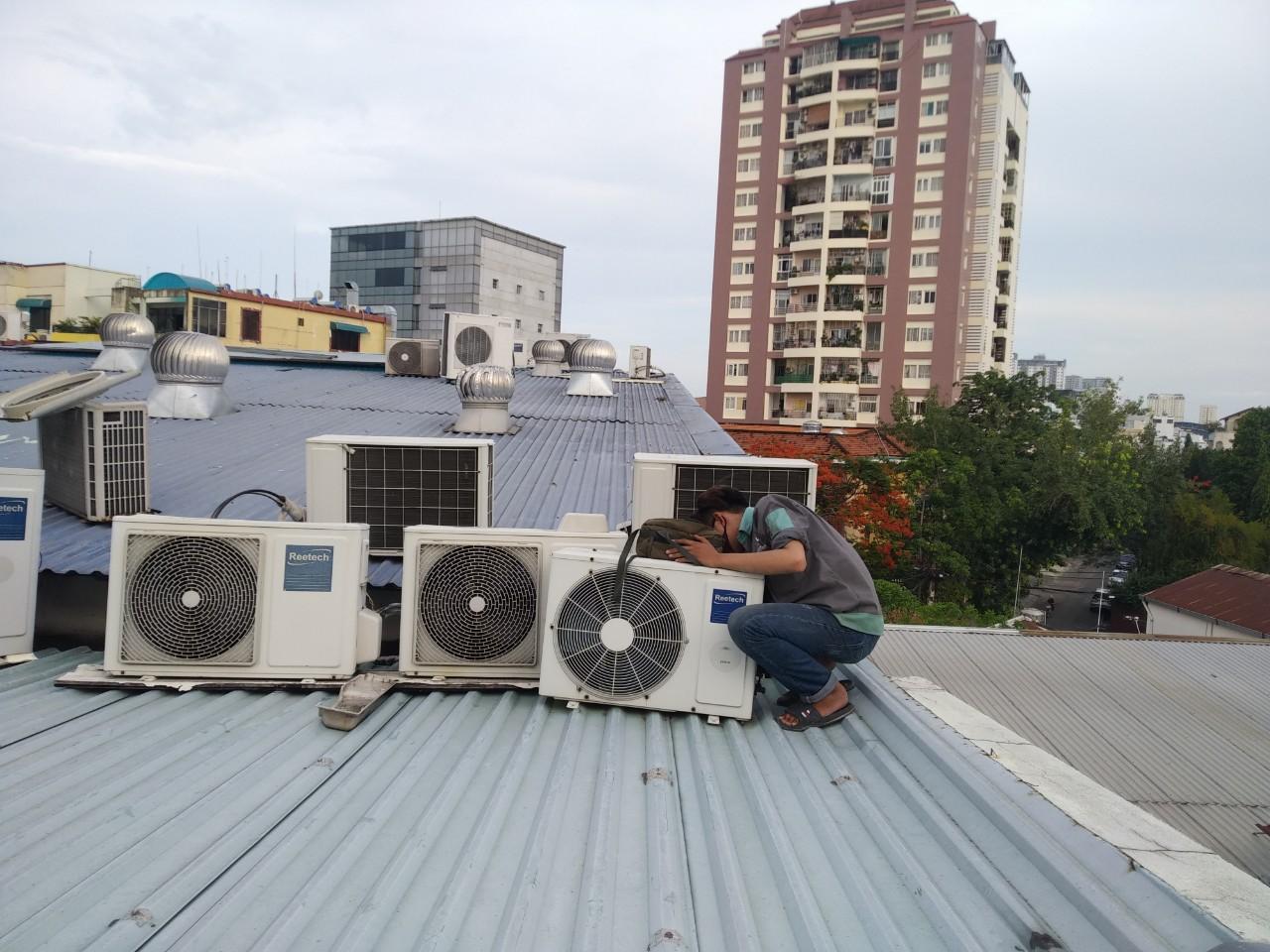Bảng giá bảo trì sửa máy lạnh công nghiệp