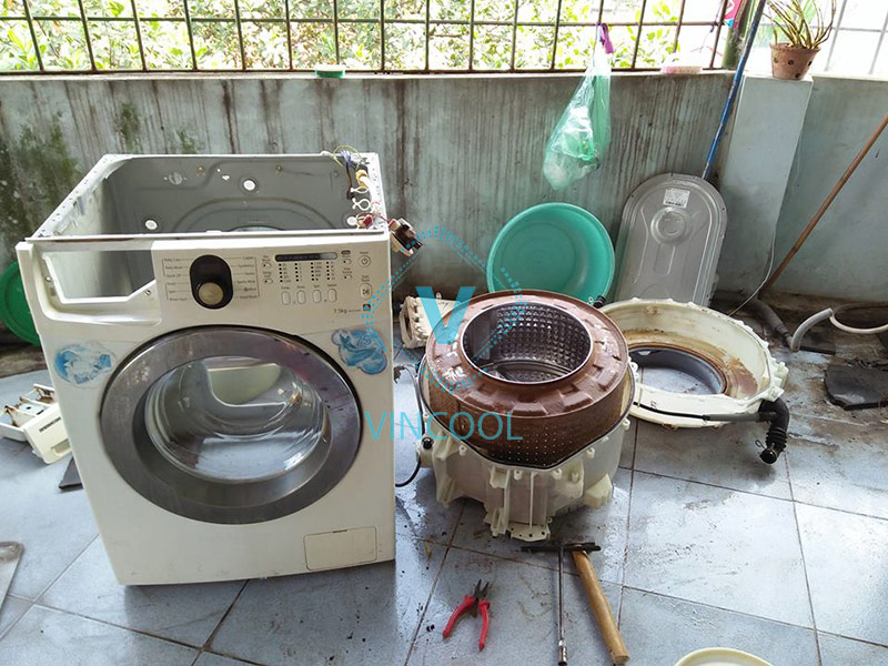 Bảng giá sửa máy giặt tại nhà tốt nhất TPHCM 2021
