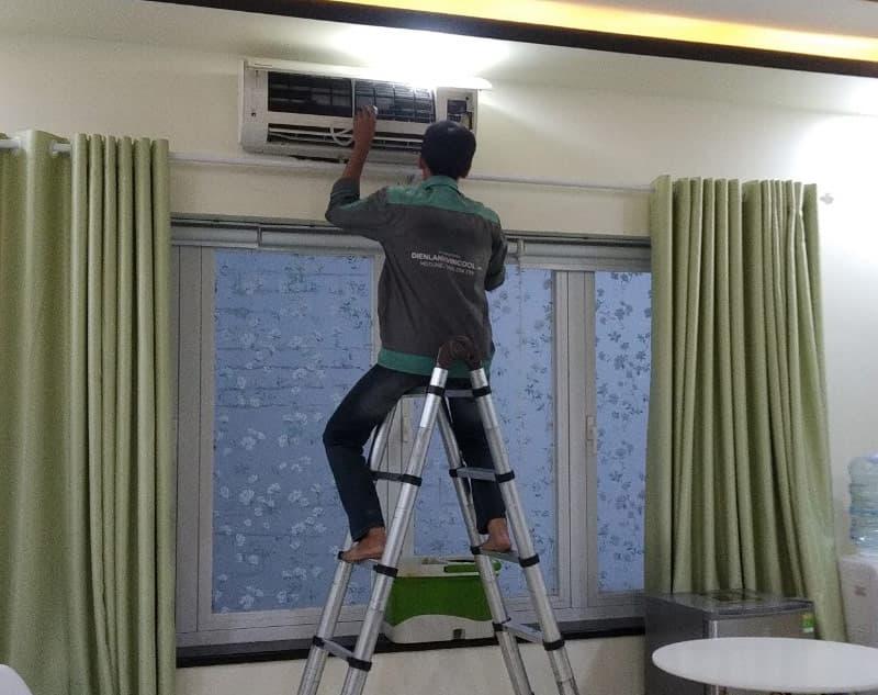 Cách sửa máy lạnh inverter không mát