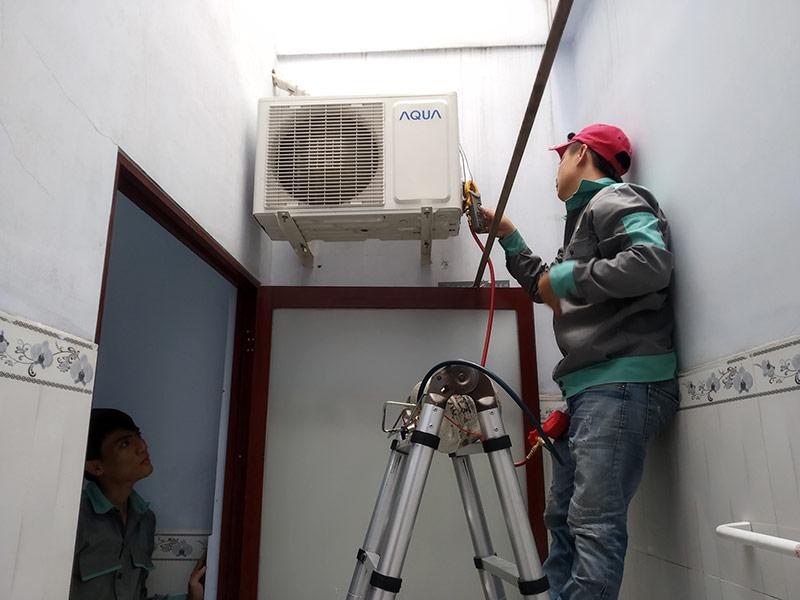Có sửa chữa vệ sinh máy lạnh Hóc Môn tại nhà không?