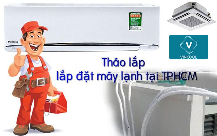 Di dời máy lạnh quận 12 ở đâu uy tín, chất lượng tại TPHCM?