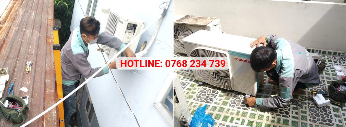 Dịch vụ sửa máy lạnh Hóc Môn Vincool cam kết khắc phục mọi sự cố máy lạnh