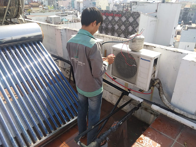 Địa chỉ tháo lắp máy lạnh quận 12 cam kết không xì gas