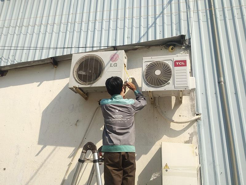 Di dời máy lạnh quận Bình Tân giá rẻ, chuyên nghiệp chỉ có tại Vincool