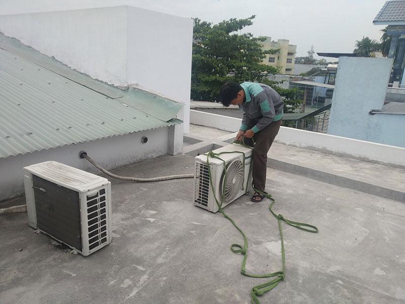 Dịch vụ di dời máy lạnh quận Bình Tân giá rẻ, chuyên nghiệp