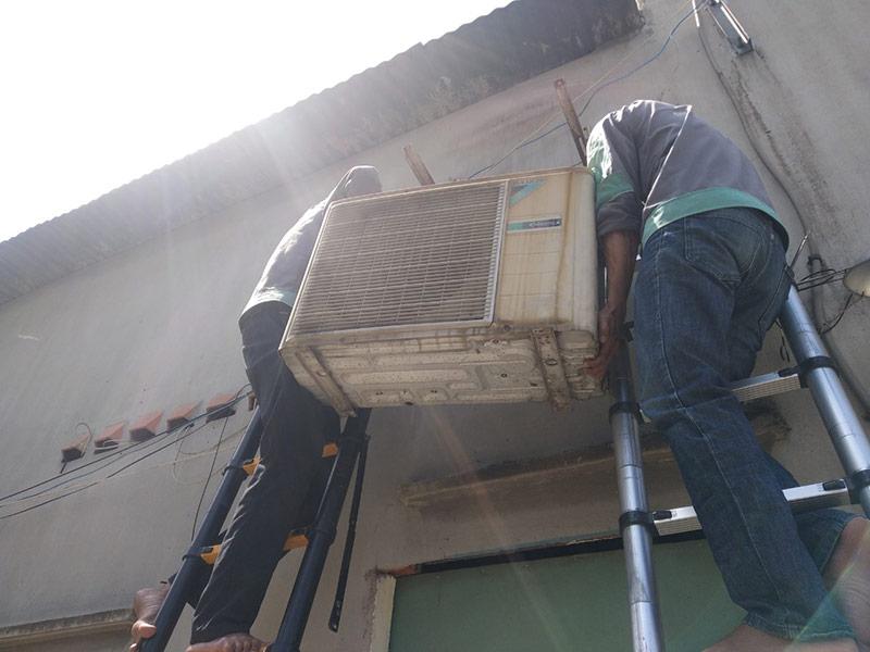 Di dời máy lạnh quận Gò Vấp giá rẻ, chuyên nghiệp chỉ có tại Vincool