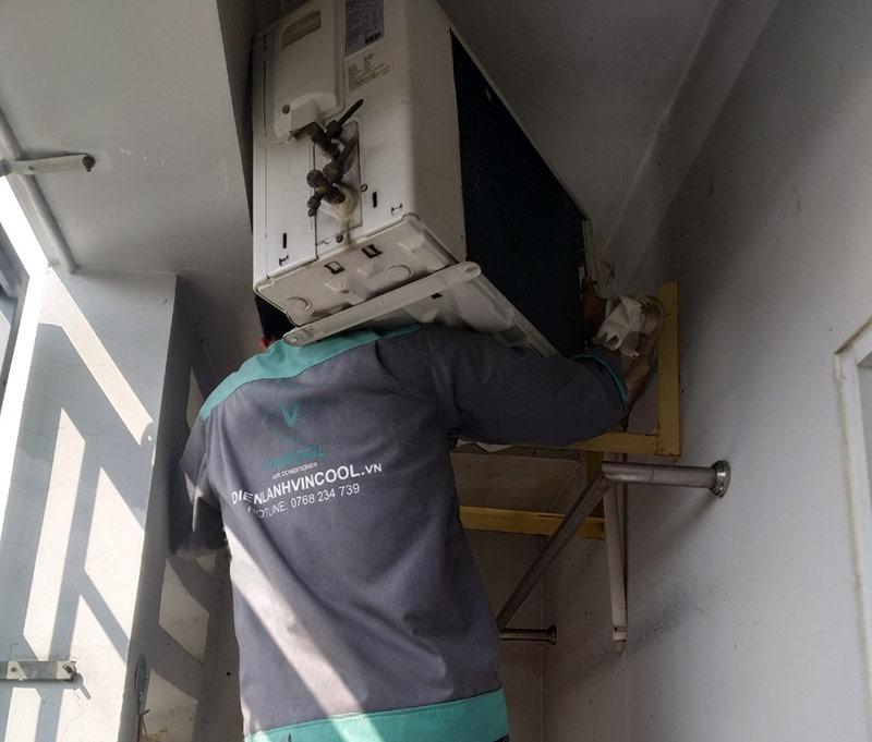 dịch vụ di dời máy lạnh Quận Phú Nhuận giá rẻ, chuyên nghiệp của Điện Lạnh Vincool