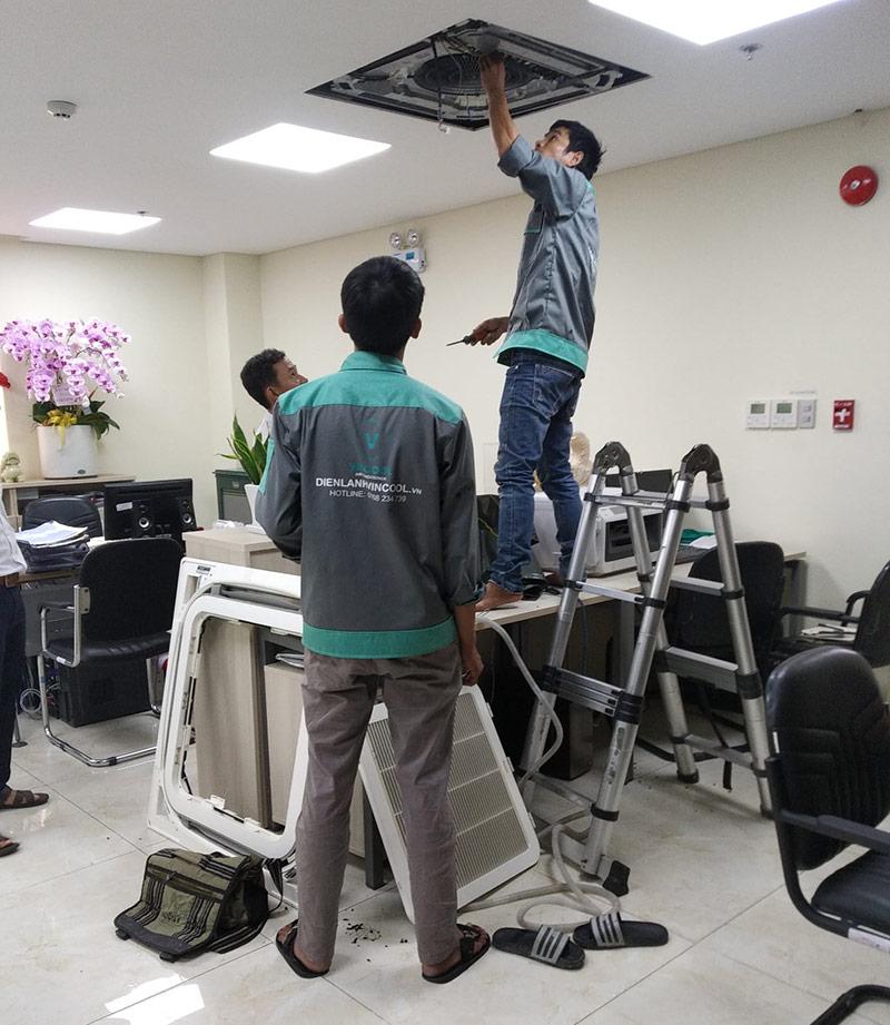 Sửa máy lạnh quận Tân Bình chuyên nghiệp chỉ có tại Vincool