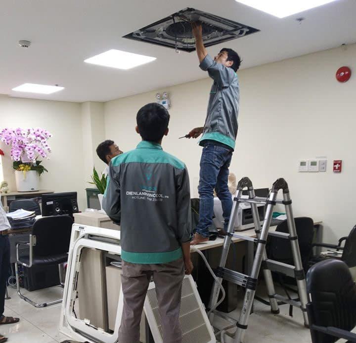 Vincool sửa chữa máy lạnh báo giá ưu đãi