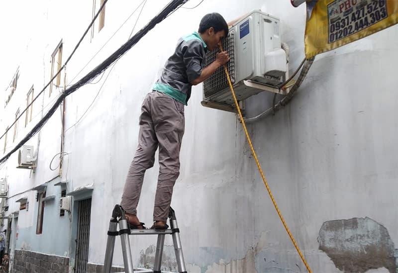 Dịch vụ sửa chữa vệ sinh máy lạnh có mặt mọi lúc mọi nơi