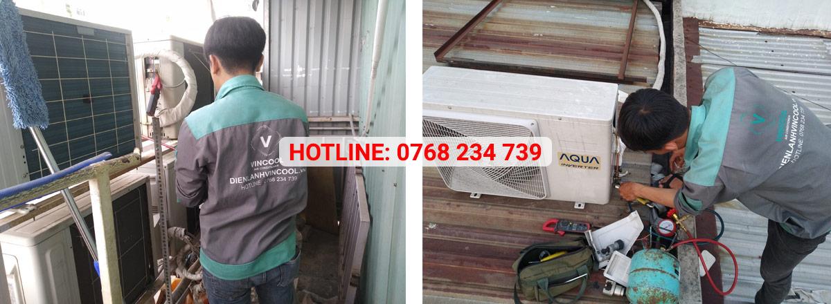 Vincool dịch vụ sửa máy lạnh chuyên nghiệp tại TPHCM