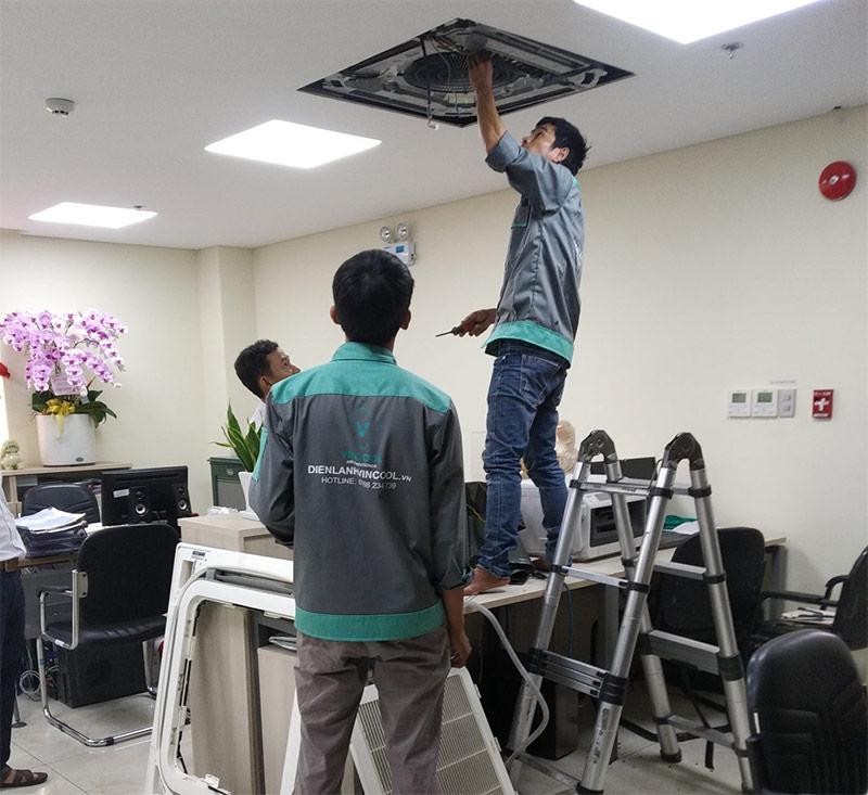 Dịch vụ sửa máy lạnh Quận Bình Tân chuyên nghiệp