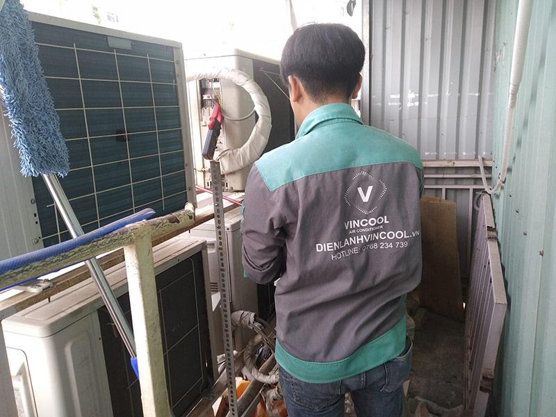 Vincool chuyên gia sửa máy lạnh quận Phú Nhuận