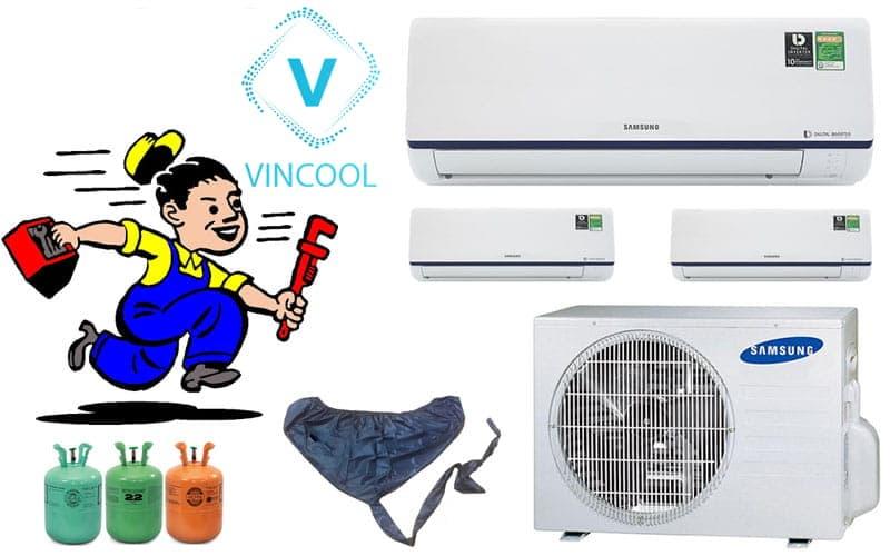 Sửa máy lạnh quận Phú Nhuận chuyên nghiệp Vincool, có mặt sau 30 phút
