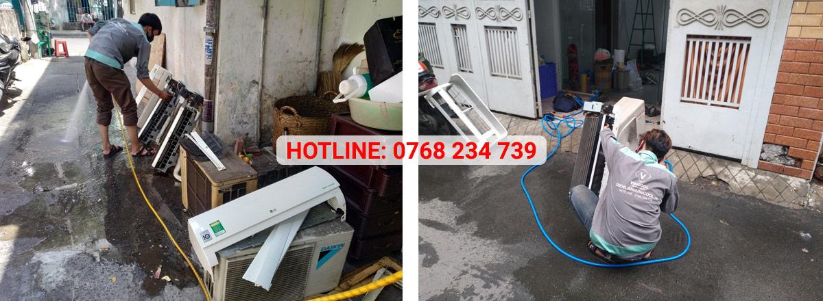 Vincool cung cấp dịch vụ vệ sinh máy lạnh quận 12 giá rẻ, chuyên nghiệp