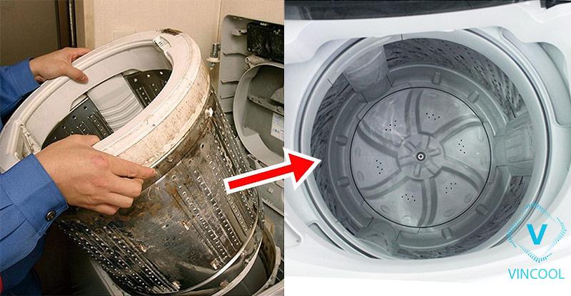 Khi nào cần bảo dưỡng vệ sinh máy giặt định kỳ?
