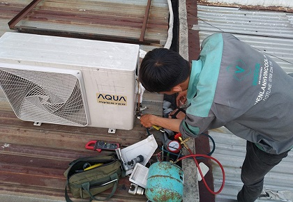 Lắp đặt máy lạnh quận 6 uy tín chất lượng