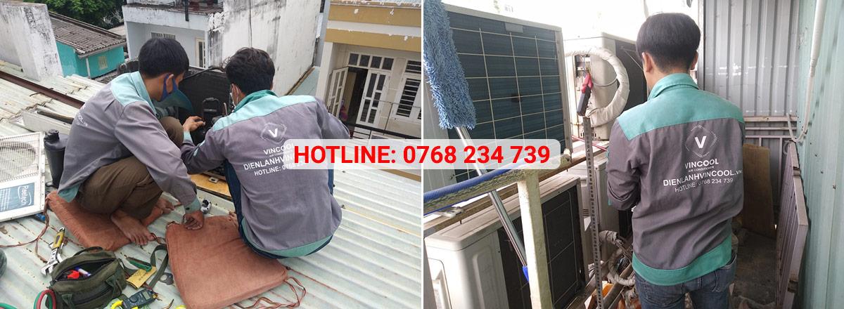 Dịch vụ sửa máy lạnh Quận Tân Phú chuyên nghiệp chỉ có tại Vincool