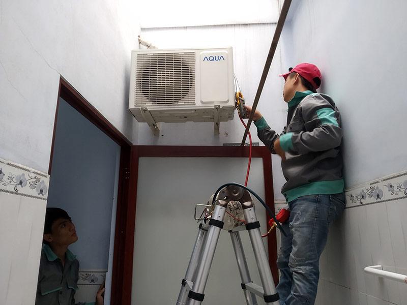 sửa máy lạnh quận Tân Phú tại nhà
