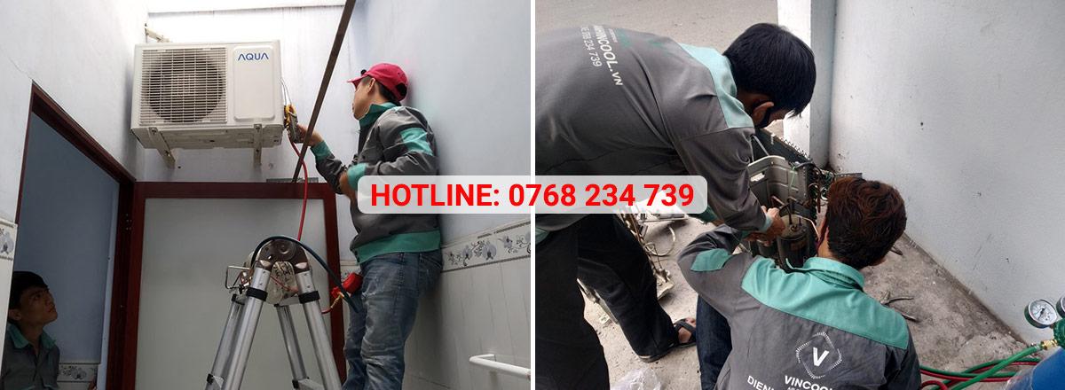Điện lạnh Vincool sửa máy lạnh quận Tân Phú giá rẻ, chuyên nghiệp