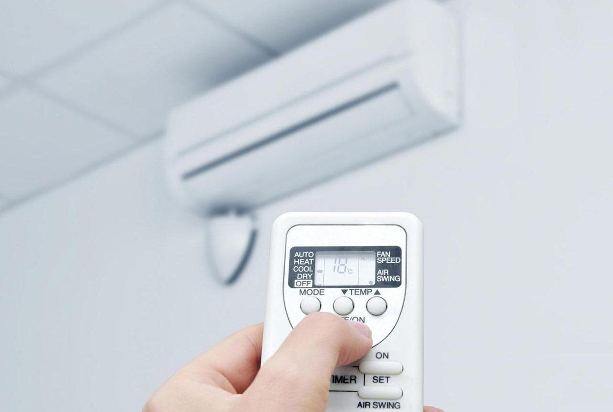 Không để nhiệt độ quá thấp, gây ảnh hưởng đến sức khoẻ.
