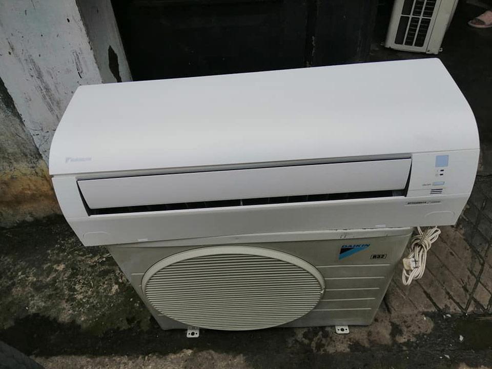 Máy lạnh Daikin cũ inverter nội địa Nhật 1.5 HP