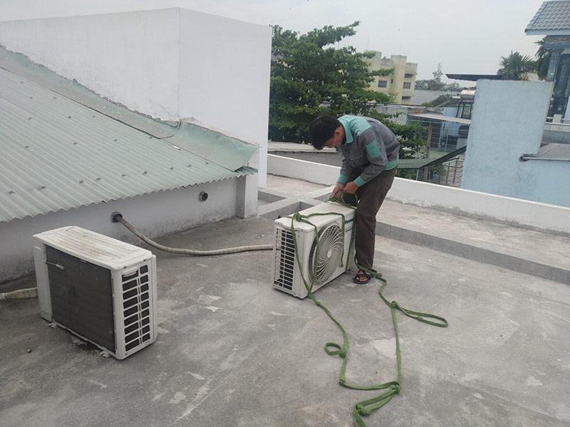 Mùa mưa ở đâu có bảng giá tháo lắp máy lạnh tốt?