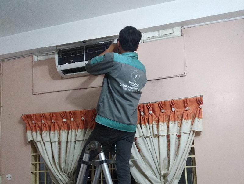 Quy trình lắp đặt máy lạnh quận 8 nhanh chóng khoa học