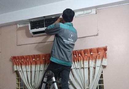 Lắp đặt máy lạnh quận Bình Tân giá rẻ, bảo hành dài hạn