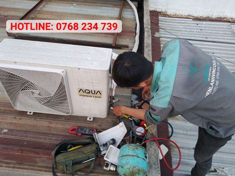 Quy trình tháo lắp máy lạnh Quận 11 tiết kiệm thời gian hàng đầu