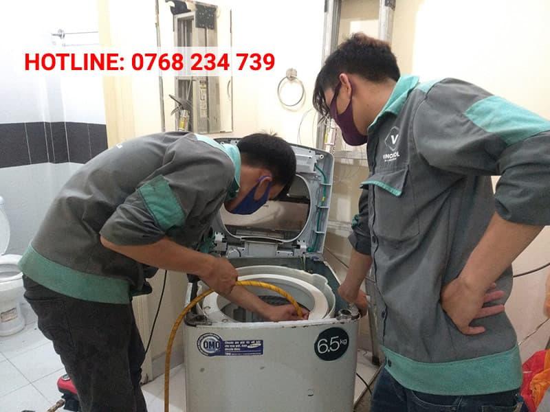 Dịch vụ sửa máy giặt Hóc Môn tại nhà