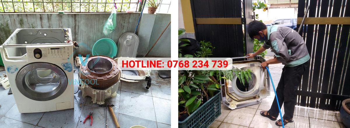 Quy trình sửa máy giặt quận Gò Vấp chuyên nghiệp