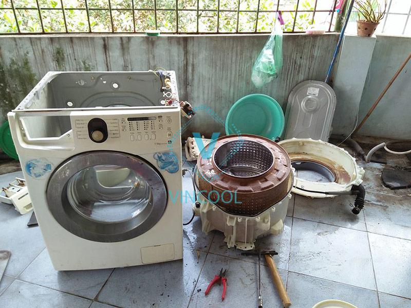 Đơn vị sửa máy giặt Hóc Môn có mặt trong 30 phút