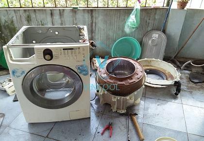Sửa máy giặt quận Tân Phú. Dịch vụ Uy tín - Tiện lợi - Giá rẻ