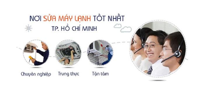 Sửa máy lạnh công nghiệp uy tín tại TP.HCM