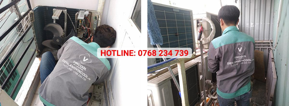 Sửa chữa máy lạnh quận 2 tại nhà chuyên nghiệp chỉ có tại Vincool
