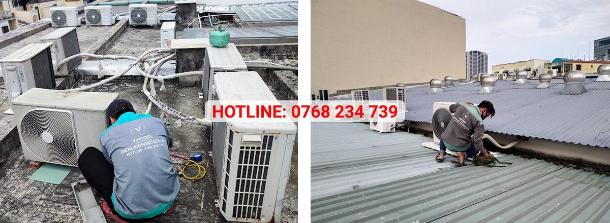 Dịch vụ sửa máy lạnh quận 3 uy tín, bảo hành chất lượng