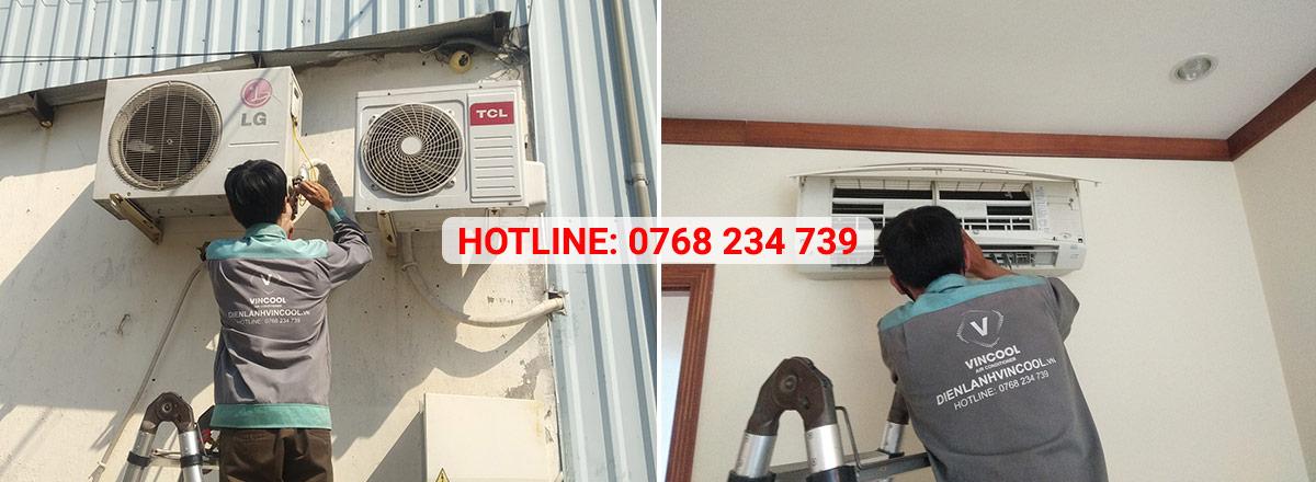 Sửa máy lạnh Quận Thủ Đức chuyên nghiệp chỉ có tại Điện lạnh Vincool