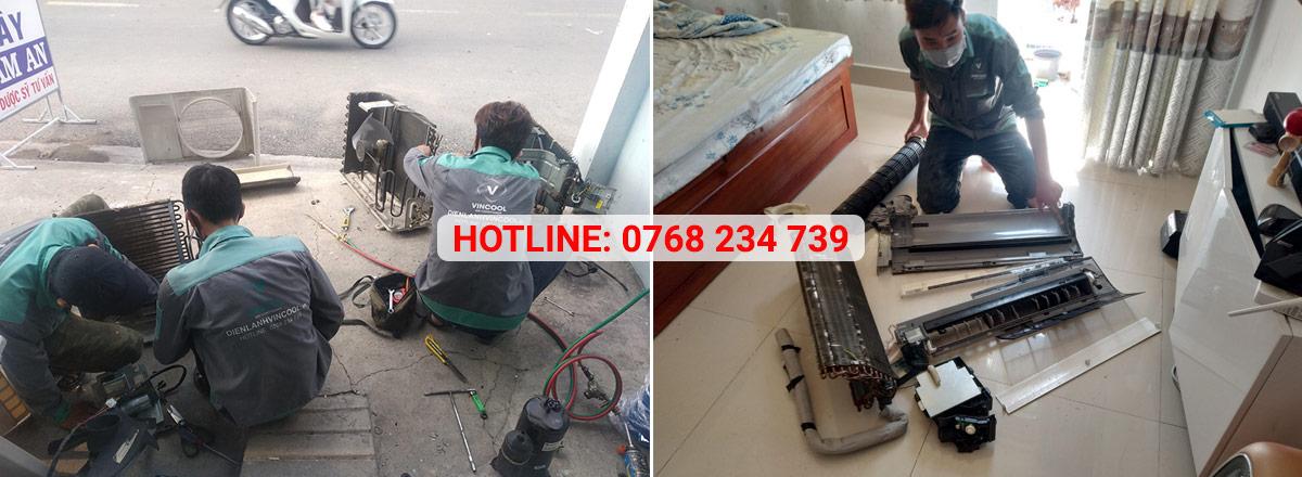 Dịch vụ sửa máy lạnh quận Phú Nhuận Vincool cam kết khắc phục mọi sự cố máy lạnh