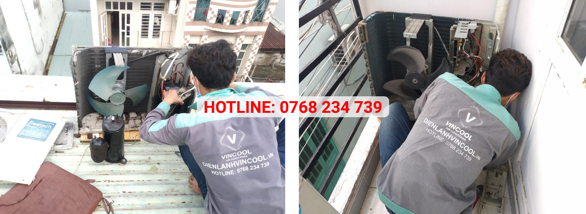 Điện Lạnh VinCool chuyên sửa chữa, vệ sinh máy lạnh chuyên nghiệp