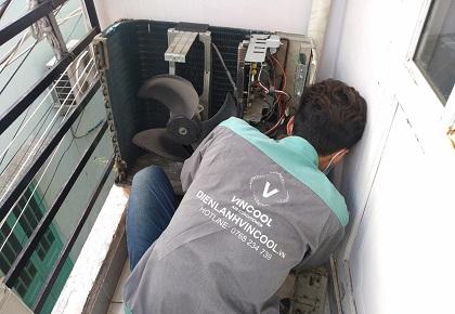 Địa chỉ sửa máy lạnh tận nơi, sửa hệ thống họng gió máy lạnh tận nơi TP.HCM