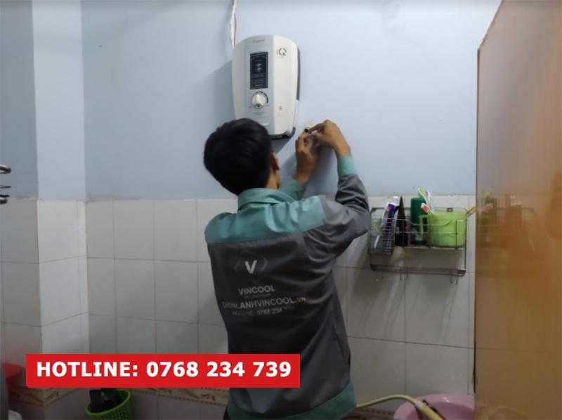 Sửa máy nước nóng quận 5 tại nhà chuyên nghiệp, uy tín
