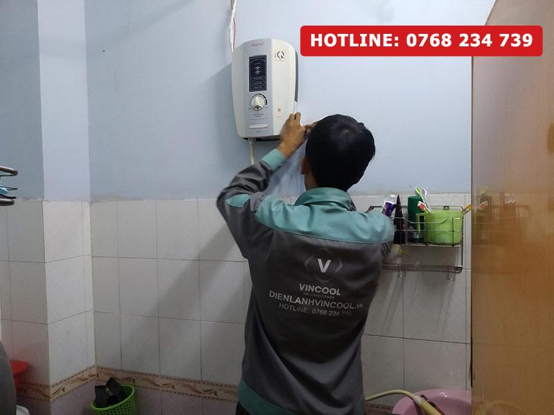 Sửa máy nước nóng quận Bình Tân uy tín, chuyên nghiệp