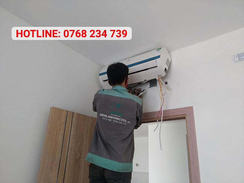 Tháo lắp máy lạnh Quận 12 cam kết chất lượng với mọi dòng máy