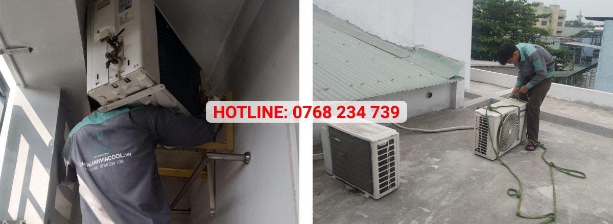Vincool cung cấp dịch vụ vệ sinh, tháo lắp máy lạnh quận 12 chuyên nghiệp