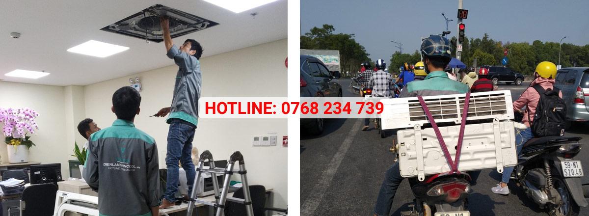 Vincool tháo lắp máy lạnh giá rẻ, chuyên nghiệp tại quận Bình Tân