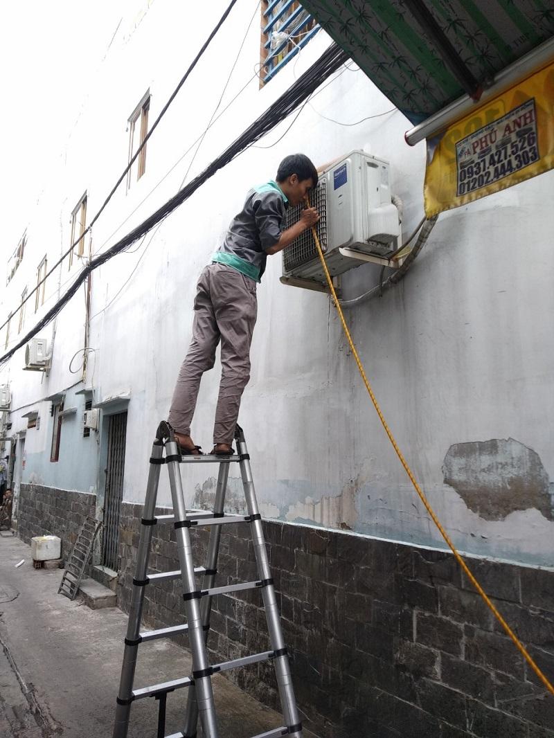 Tháo lắp máy lạnh quận Phú Nhuận tận nhà mọi lúc mọi nơi