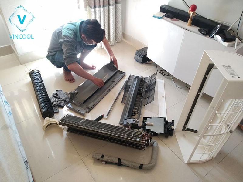 Tháo lắp máy lạnh quận Tân Bình có khó không?