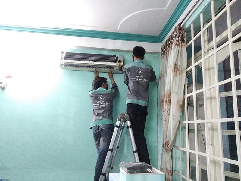 dịch vụ tháo lắp máy lạnh quận Phú Nhuận giá rẻ, chuyên nghiệp