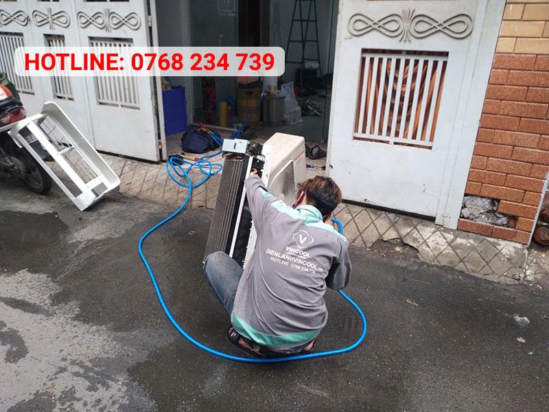 Điện lạnh VinCool - chuyên vệ sinh máy lạnh quận 6